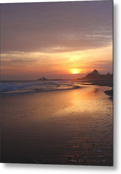 Taylor Swift Metal Print featuring the photograph A Swift Sunset by Amy Martira
