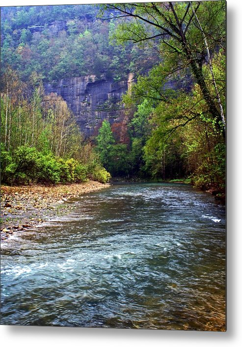Buffalo National River Metal Print featuring the photograph Buffalo River Downstream by Marty Koch