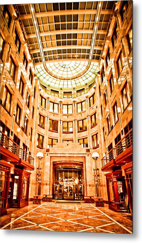 Boston Metal Print featuring the photograph 75 State Street by Robert Clifford