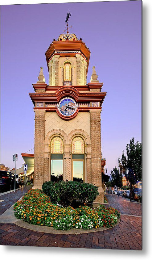 Clocktower Metal Print featuring the photograph Clocktower by Ryan Heffron