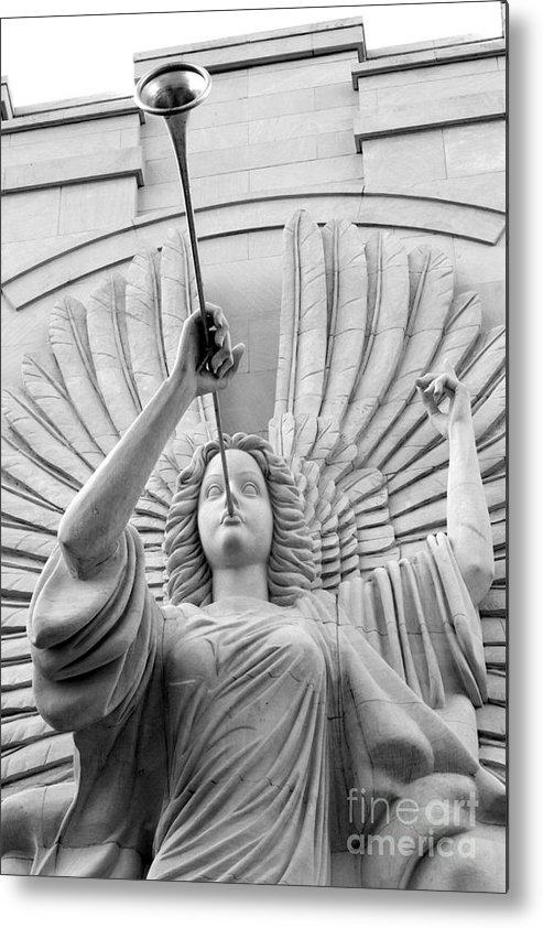 Angel Metal Print featuring the photograph Herald Angel by Jeannie Burleson