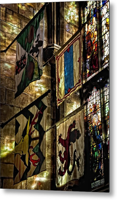 St. Giles Cathedral Metal Print featuring the photograph St. Giles Cathedral Edinburgh by Jim Dohms