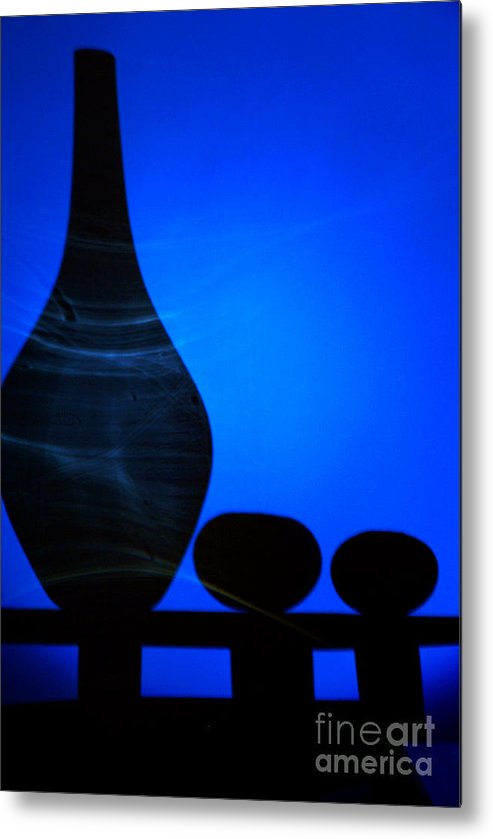 Shadow Metal Print featuring the photograph Still-life With A Shadow by Vadim Grabbe