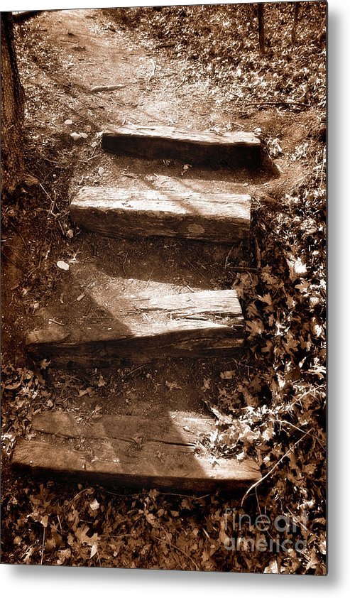 Step Metal Print featuring the photograph Untitled by Jeannie Burleson