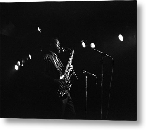 Jazz Metal Print featuring the photograph Dewey Redman by Lee Santa
