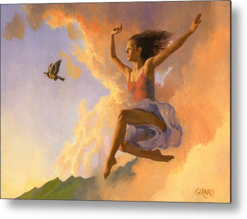 Dance Metal Print featuring the painting Inspiration by Francois Girard