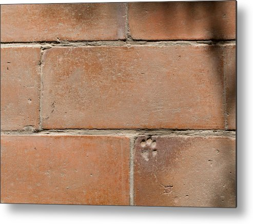 Brick Metal Print featuring the photograph Leave Your Mark by Dusty Demerson