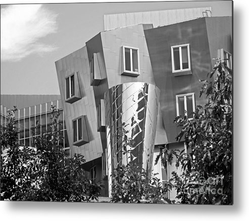 Beaver Metal Print featuring the photograph Massachusetts Institute Of Technology Stata Center by University Icons
