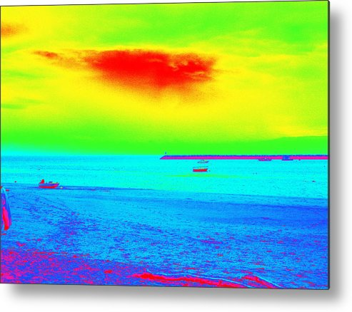 Provincetown Metal Print featuring the photograph Provincetown Harbor by Mike McCool