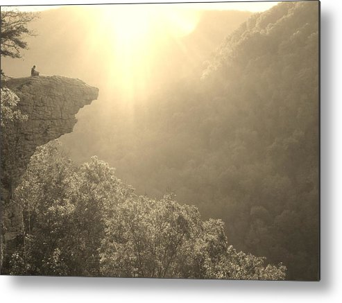Solitude Metal Print featuring the photograph Solitude by Steve Schwarz