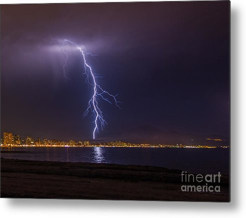 Metal Print featuring the photograph Storm by Eugenio Moya
