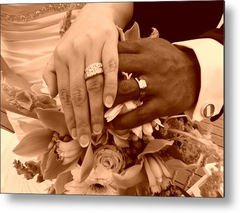 Metal Print featuring the photograph The Hands by Regina McLeroy
