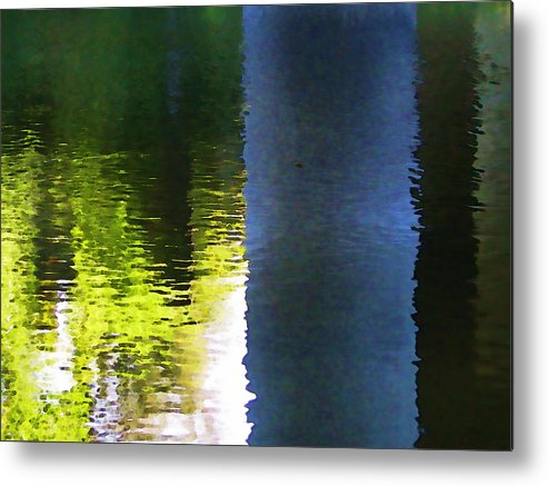 Rivers Metal Print featuring the photograph Water by Joe Bledsoe