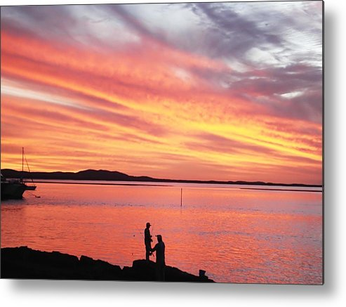 Sunset Metal Print featuring the photograph 1770 by Renato Sensibile