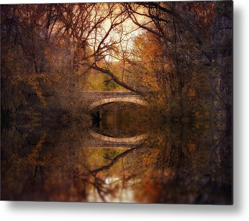 Autumn Metal Print featuring the photograph Autumn's End by Jessica Jenney