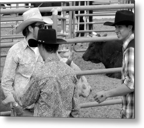 Rookies Metal Print featuring the photograph Tadah by Marit Runyon