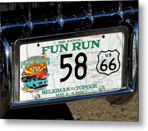 Funrun Metal Print featuring the photograph Funrun by Marit Runyon