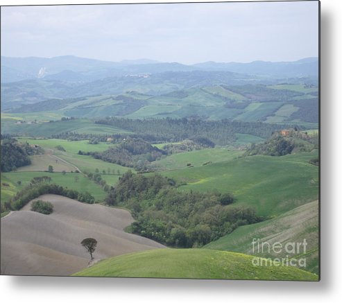 Tuscany Metal Print featuring the photograph Italy by Tiffany Reine
