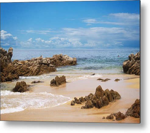 Mexico Metal Print featuring the photograph Mexico by Athala Carole Bruckner