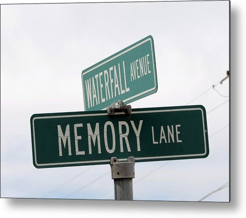 Memory Lane Metal Print featuring the photograph Funrun by Marit Runyon