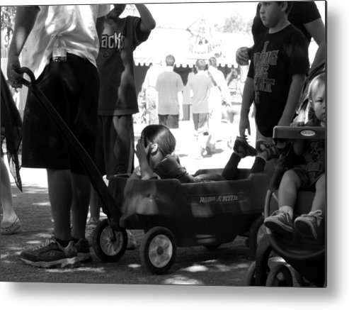 Radio-flyer Metal Print featuring the photograph Funrun by Marit Runyon