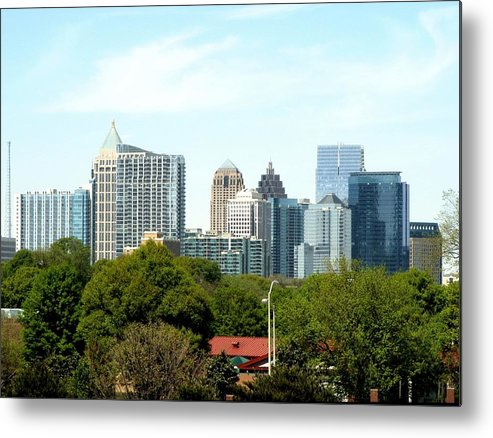Atlanta Metal Print featuring the photograph Atlanta Ga. by Clayton Odom