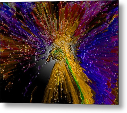 Metal Print featuring the photograph Abstract by Andrea Jodhan
