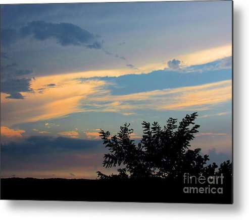 Sun Metal Print featuring the photograph 933acaep by Scott B Bennett