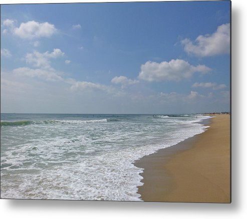 Surf Metal Print featuring the photograph A Day At The Beach by Ellen Paull