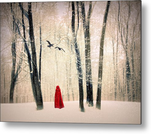 Winter Metal Print featuring the photograph A Winters Tale by Jessica Jenney