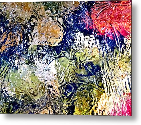 Feathers Metal Print featuring the photograph Abstract 63 by Tim Townsend