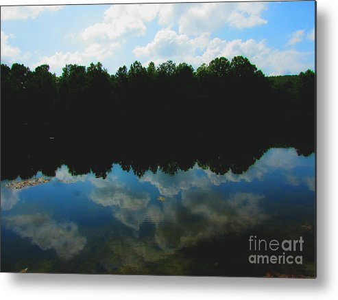 Reflections Metal Print featuring the photograph Aep059a by Scott B Bennett