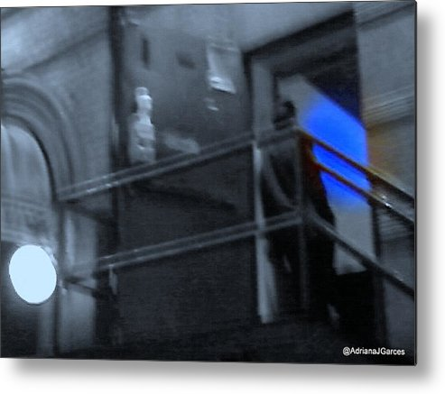 Nightclubs Metal Print featuring the photograph After Hours by Adriana Garces