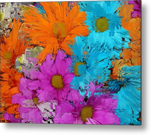 Flower Metal Print featuring the photograph All The Flower Petals In This World 2 by Kume Bryant