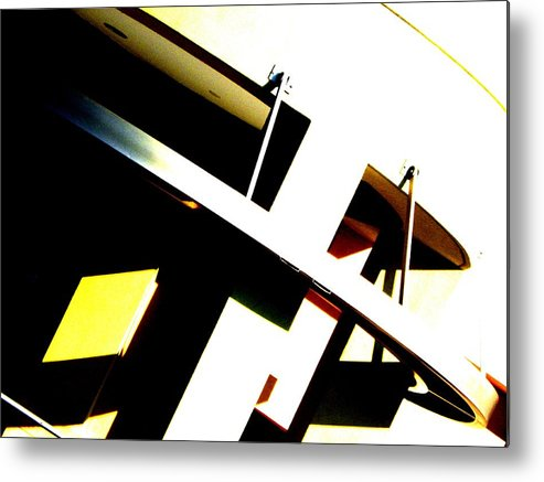 Abstract Metal Print featuring the photograph Ambitions by Clayton Odom