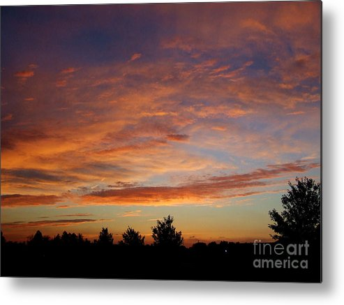 Sunset Metal Print featuring the photograph Ams 171 by Scott B Bennett