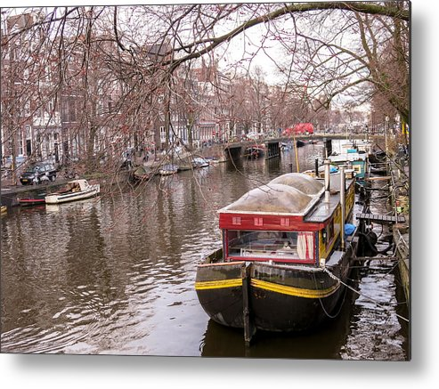 Amsterdam Metal Print featuring the photograph Amsterdam Home by Tino Lopes