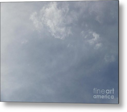 Cloud Photos Metal Print featuring the photograph An Interesting Face In The Clouds by Jacquelyn Roberts