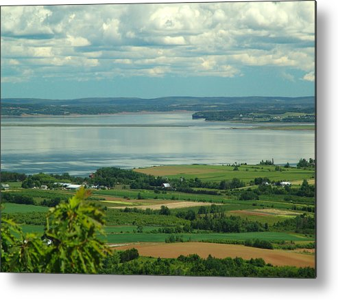 George Metal Print featuring the photograph Annapolis Valley No.1 by George Cousins