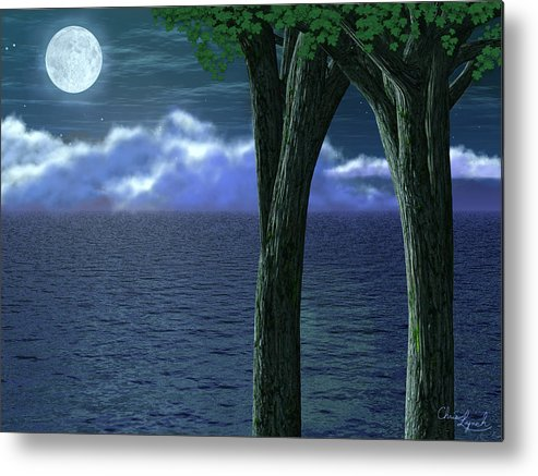 Nature Metal Print featuring the digital art Anniversary by Christopher Lynch