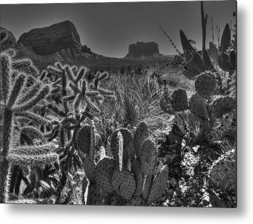 Arizona Metal Print featuring the photograph Arizona Bell Rock Valley N6 by John Straton
