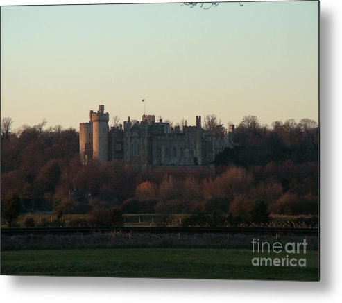 Castle Metal Print featuring the photograph Arundel Castle by Mark Bowden
