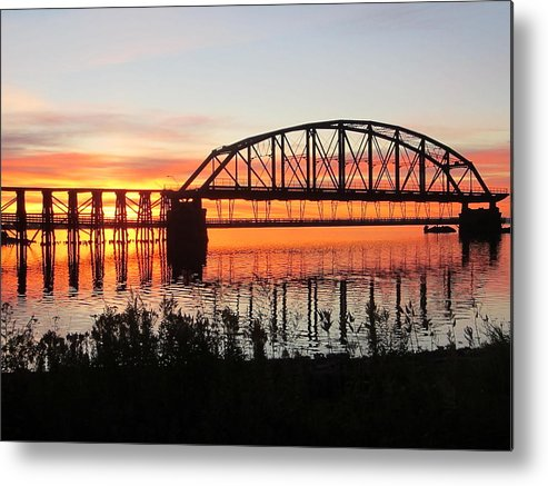 Sunrise Metal Print featuring the photograph At Peace by Alison Gimpel