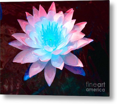 Peaceful Metal Print featuring the photograph Ataraxia by Catherine Lottes
