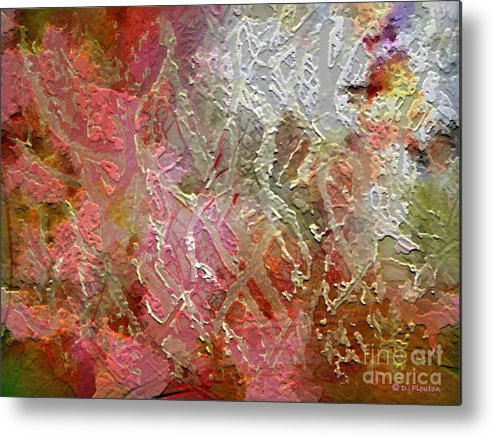 Autumn Metal Print featuring the photograph Autumn Hues by Dee Flouton