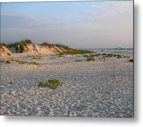 Photos Of Florida Beaches Metal Print featuring the photograph Beach At Sunrise by Julianne Felton