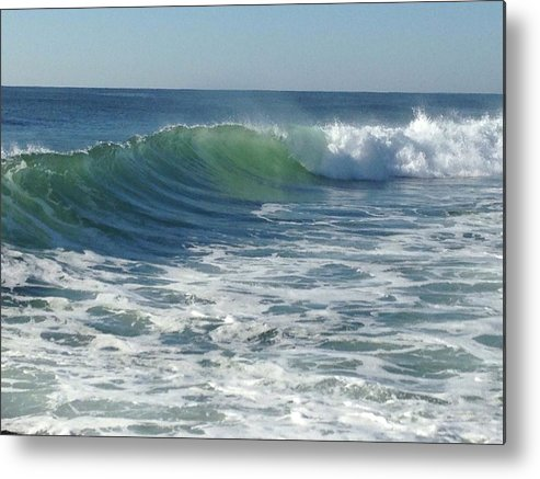 East Coast Surfing Metal Print featuring the photograph Big Surf by Shannon OBrien