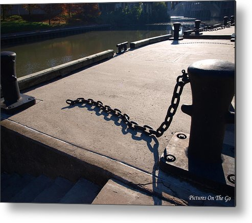 River Walk Metal Print featuring the photograph Broken by Max M Power