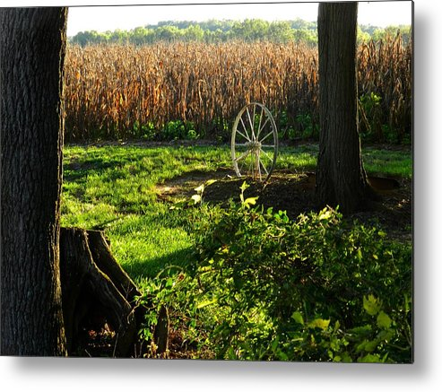 Rural Scenes Metal Print featuring the photograph Bruce's Place by Julie Dant