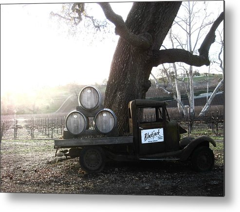 Winery Metal Print featuring the photograph Bygone Era by Paul Foutz